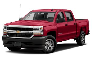 2018 Chevrolet Silverado 1500 - Red Hot