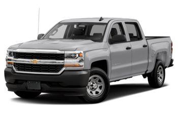 2018 Chevrolet Silverado 1500 - Silver Ice Metallic