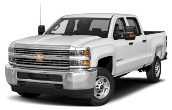 2018 Chevrolet Silverado 2500HD - Summit White
