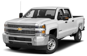 2018 Chevrolet Silverado 3500HD - Summit White