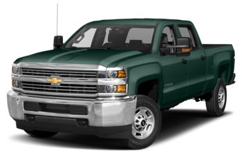 2018 Chevrolet Silverado 3500HD - Woodland Green