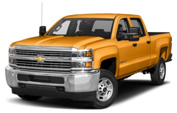 2018 Chevrolet Silverado 3500HD - Wheatland Yellow