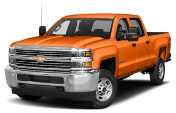 2018 Chevrolet Silverado 3500HD - Tangier Orange