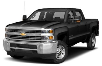 2018 Chevrolet Silverado 3500HD - Black
