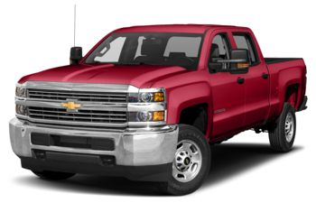 2018 Chevrolet Silverado 3500HD - Red Hot