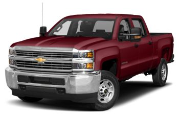 2017 Chevrolet Silverado 3500HD - Butte Red Metallic