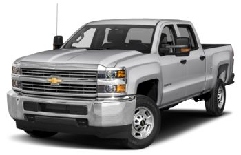 2018 Chevrolet Silverado 3500HD - Silver Ice Metallic