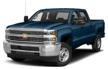 2018 Chevrolet Silverado 3500HD - Deep Ocean Blue Metallic