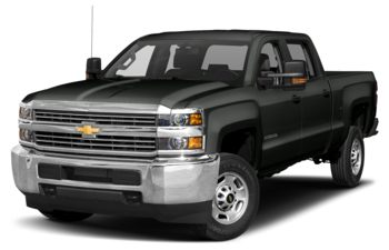 2018 Chevrolet Silverado 3500HD - Graphite Metallic