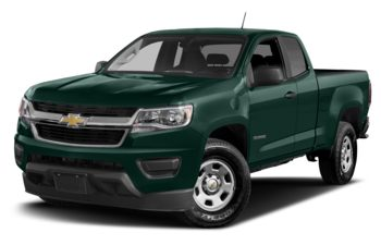 2017 Chevrolet Colorado - Woodland Green