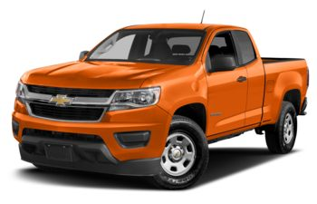 2017 Chevrolet Colorado - Tangier Orange