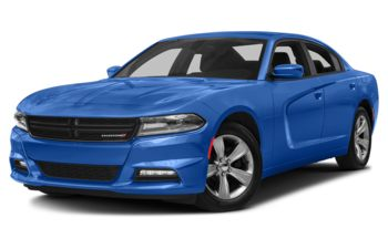 2018 Dodge Charger - Indigo Blue