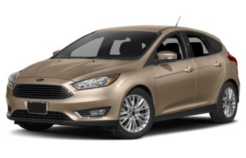 2017 Ford Focus - White Gold