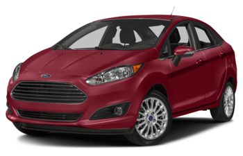 2017 Ford Fiesta - Ruby Red Metallic Tinted Clearcoat