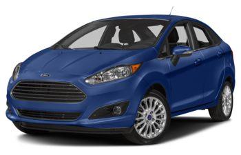 2018 Ford Fiesta - Lightning Blue