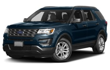 2017 Ford Explorer - Blue Jeans Metallic