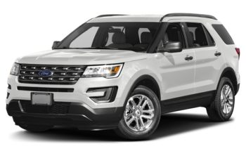 2017 Ford Explorer - Oxford White
