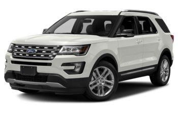 2017 Ford Explorer - White Platinum Metallic Tri-Coat