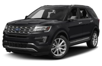 2017 Ford Explorer - Shadow Black