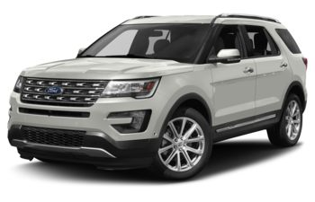 2017 Ford Explorer - White Platinum Metallic Tri-Coat
