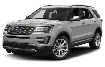 2017 Ford Explorer - Ingot Silver Metallic