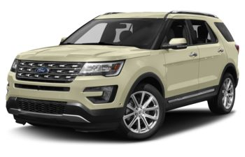 2017 Ford Explorer - White Gold