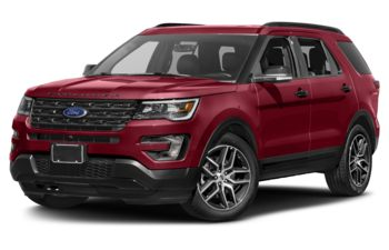 2017 Ford Explorer - Ruby Red Metallic Tinted Clearcoat