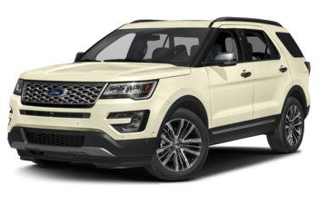 2017 Ford Explorer - White Gold
