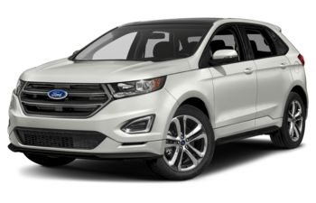 2018 Ford Edge - White Platinum Metallic Tri-Coat