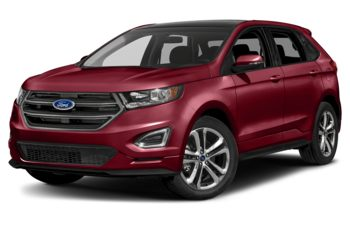2018 Ford Edge - Ruby Red Metallic Tinted Clearcoat