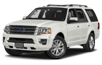 2017 Ford Expedition - White Platinum Metallic Tri-Coat