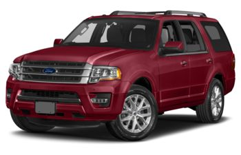 2017 Ford Expedition - Ruby Red Metallic Tinted Clearcoat