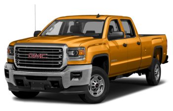 2018 GMC Sierra 3500HD - Wheatland Yellow