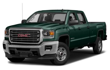 2018 GMC Sierra 2500HD - Woodland Green