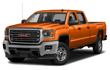 2018 GMC Sierra 2500HD - Tangier Orange