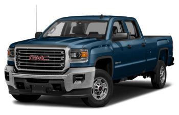 2018 GMC Sierra 3500HD - Stone Blue Metallic