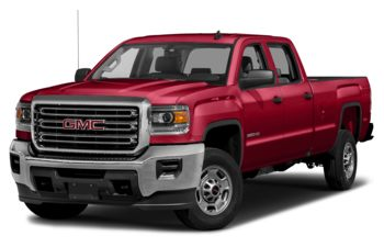 2018 GMC Sierra 3500HD - Cardinal Red