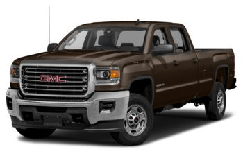 2018 GMC Sierra 2500HD - Deep Mahogany Metallic