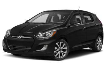 2017 Hyundai Accent - Ultra Black Pearl