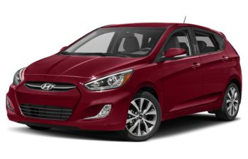 2017 Hyundai Accent - Boston Red Metallic