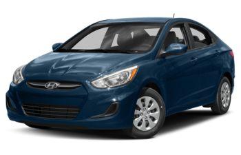 2017 Hyundai Accent - Pacific Blue Pearl