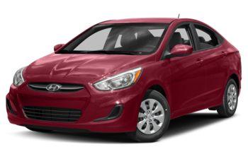 2017 Hyundai Accent - Boston Red Metallic