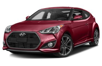 2017 Hyundai Veloster - Boston Red Metallic