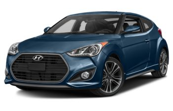 2017 Hyundai Veloster - Pacific Blue Pearl
