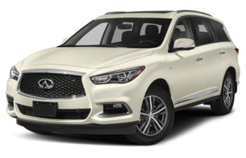 2020 Infiniti QX60 - Majestic White Pearl