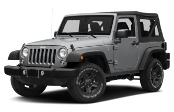 2018 Jeep Wrangler JK - Billet Metallic