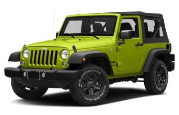 2017 Jeep Wrangler - Hypergreen