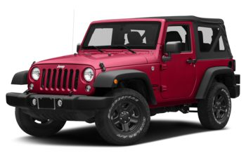 2018 Jeep Wrangler JK - Firecracker Red