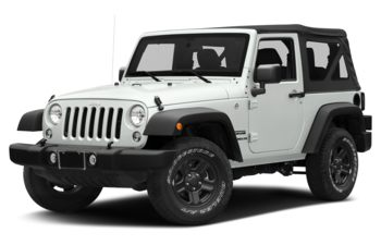 2018 Jeep Wrangler JK - Bright White