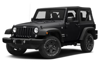 2018 Jeep Wrangler JK - Black